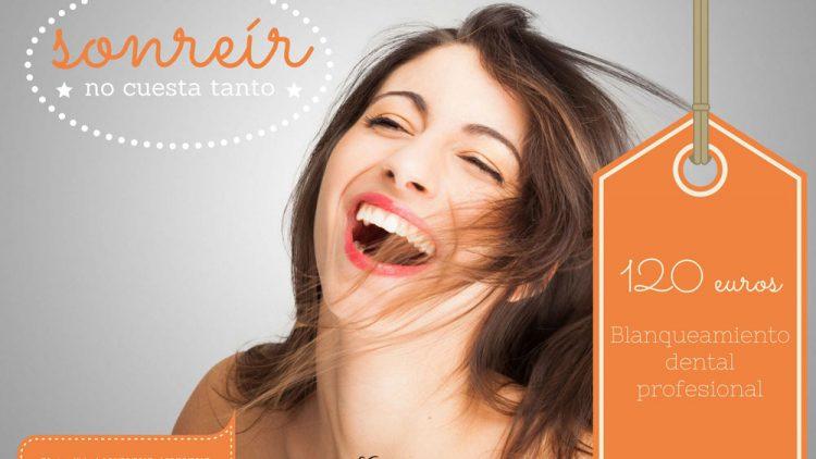 Sonreír no cuesta tanto con nuestros precios especiales en estética dental