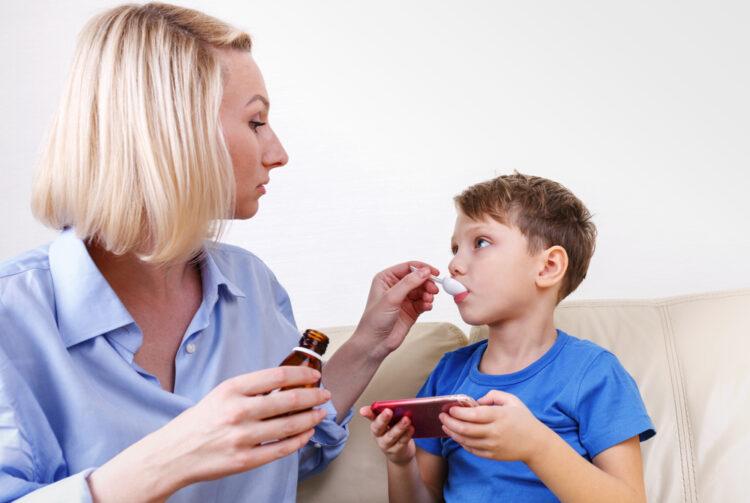 jarabes infantiles e higiene bucodental